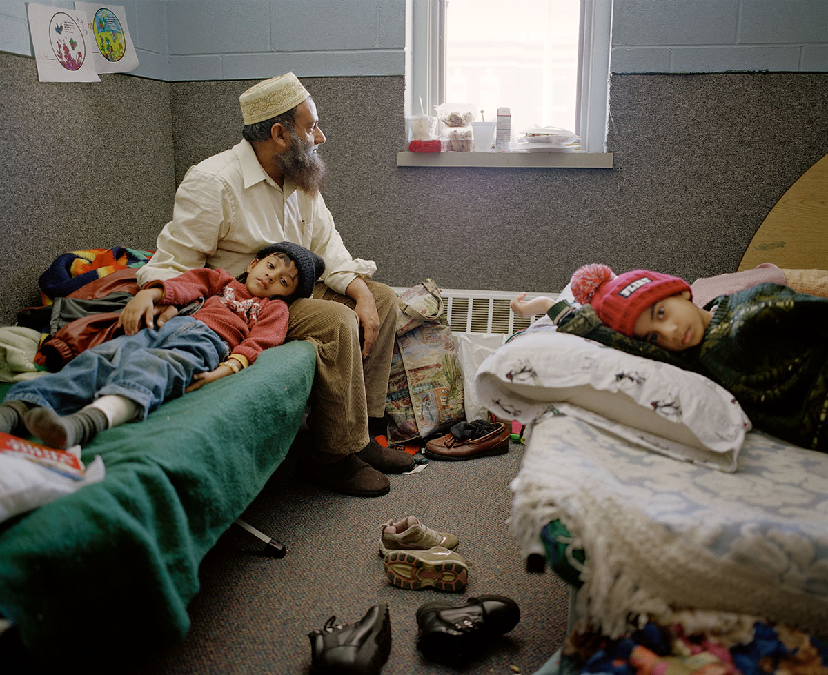 Mohammad Ibrahim Jamil and family. Burlington, VT. The New York Times Magazine