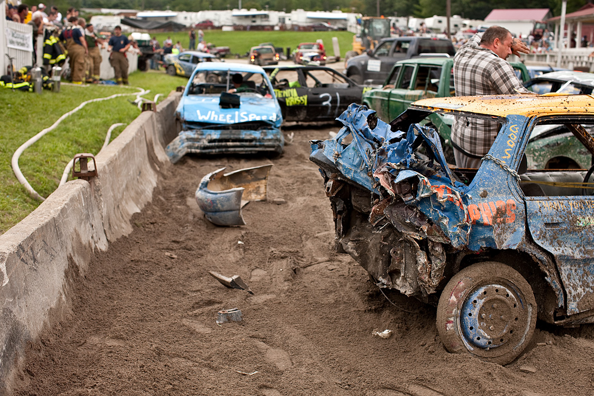 Demolition Derby. Essex County, NY.