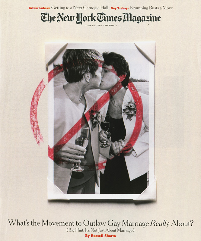 Anti-Gay-Marriage Maryland Cover Story. The New York Times Magazine.