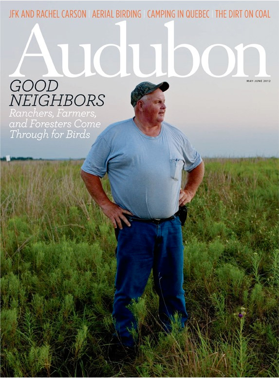 Tom Smith, Cattleman. Adubon Magazine Cover, Working Lands Feature Story. High Lonsome Plain, Missouri. Audubon Magazine.