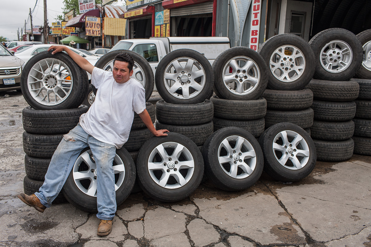 Tires For Sale. Willets Point, Corona, NY.